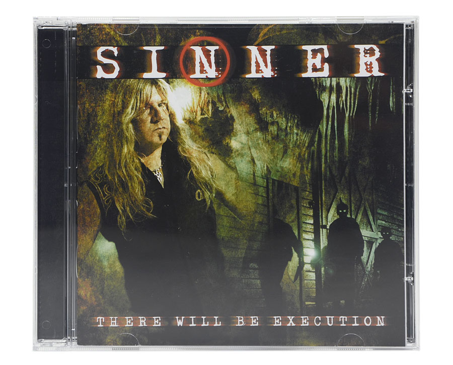 CD Sinner - There Will Be Execution - Lacrado