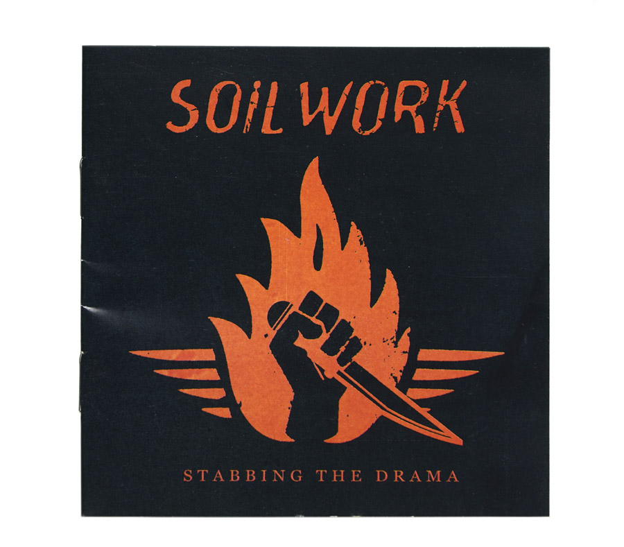 CD Soilwork - Stabbing The Drama - Lacrado