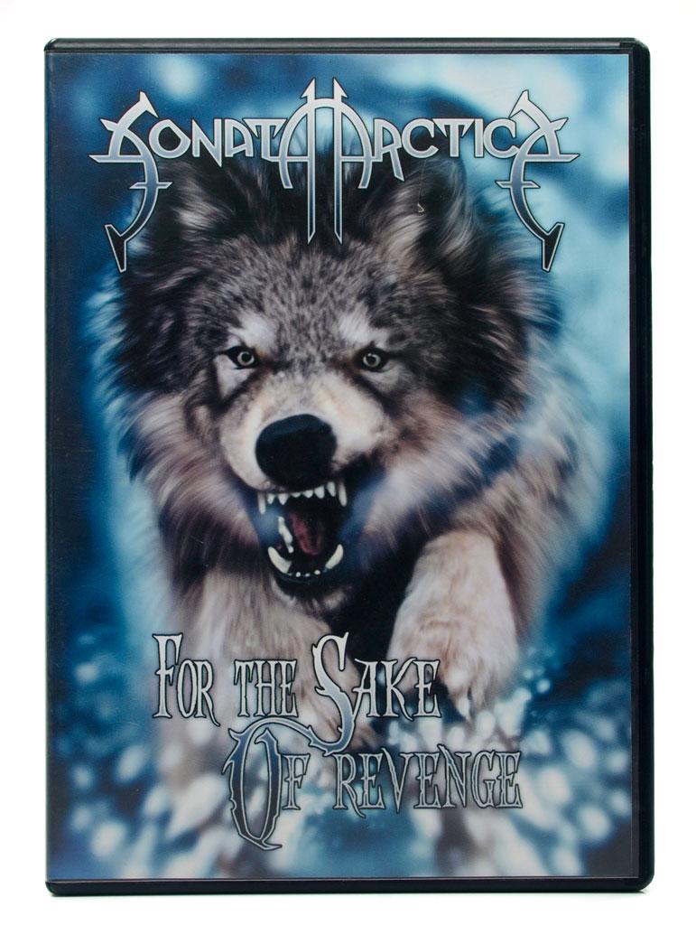 CD Sonata Arctica - For The Sake Of Revenge - CD + DVD - Lacrado