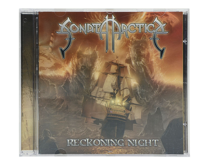 CD Sonata Arctica - Reckoning Night - Lacrado