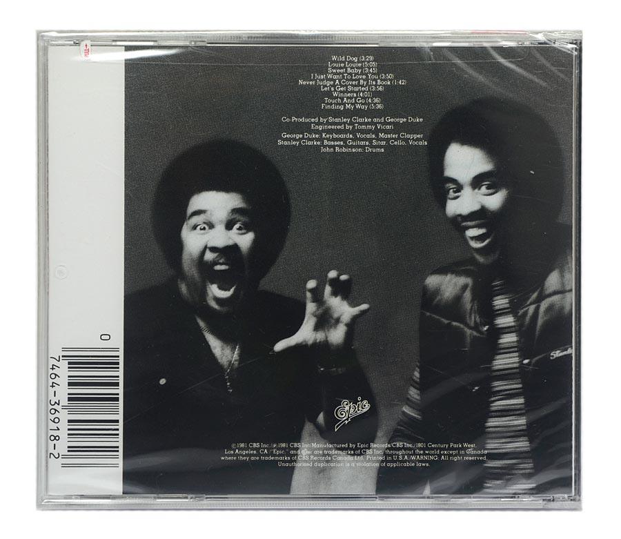 CD Stanley Clarke / George Duke - The Clarke / Duke Project - Importado - Lacrado