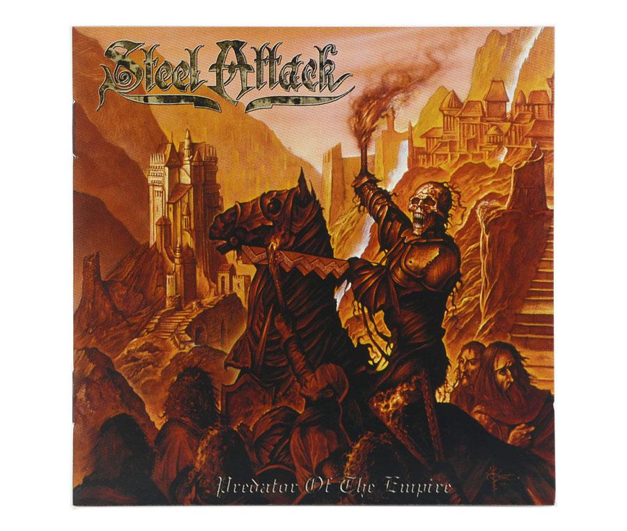 CD Steel Attack - Predator Of The Empire - Lacrado