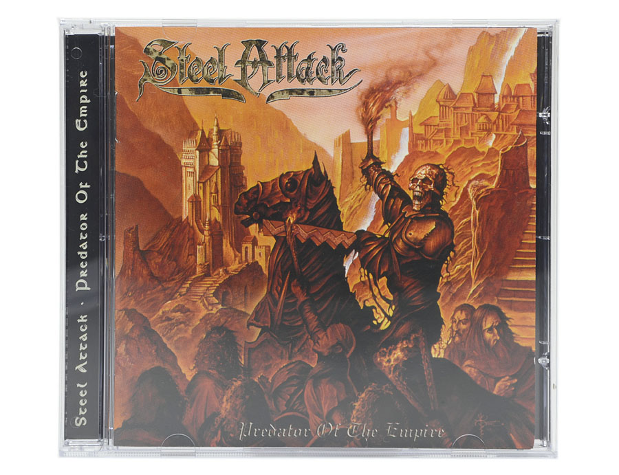 CD Steel Attack - Predator Of The Empire - Lacrado