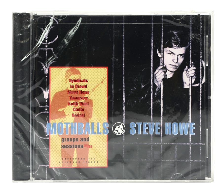 CD Steve Howe - Mothballs - Importado - Lacrado