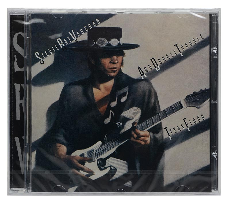 CD Stevie Ray Vaughan and Double Trouble - Texas Flood - Importado - Lacrado