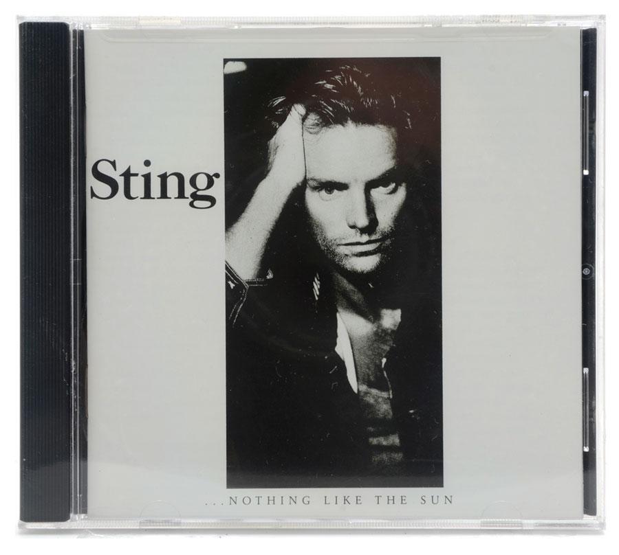 CD Sting - ...Nothing Like The Sun - Importado - Lacrado