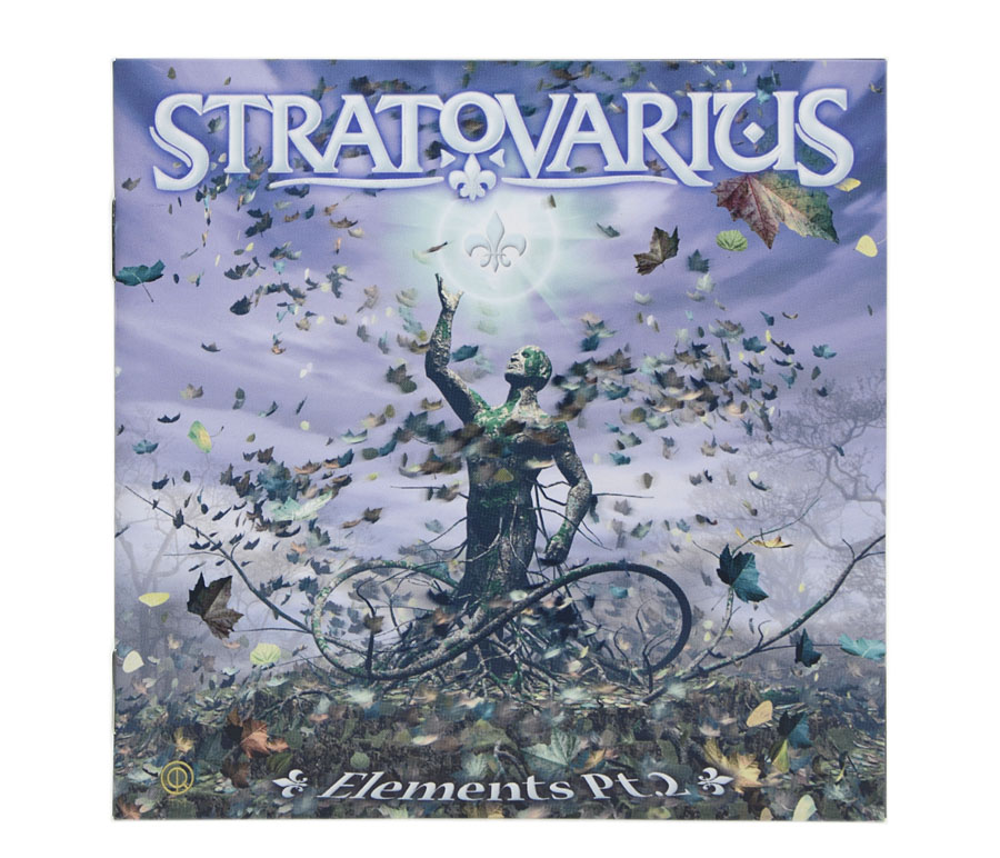 CD Stratovarius - Elements Pt.2 - Lacrado