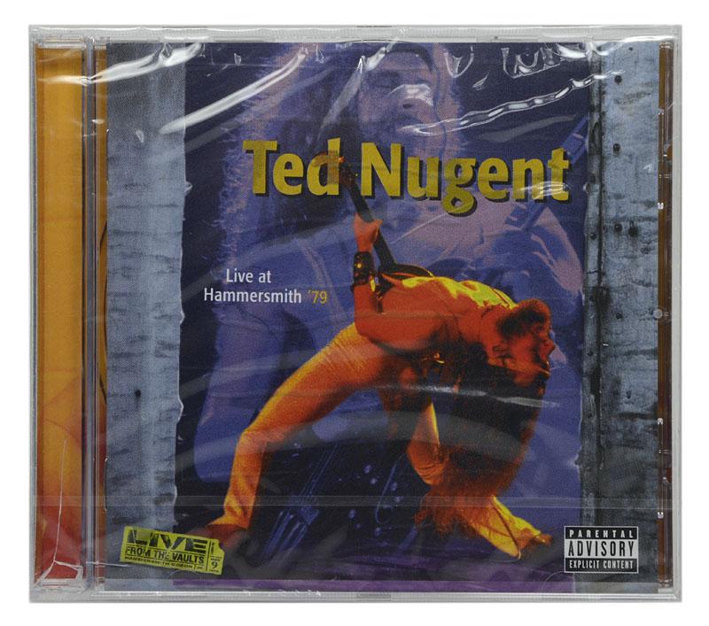 CD Ted Nugent - Live At Hammersmith 79 - Importado Canada- Lacrado