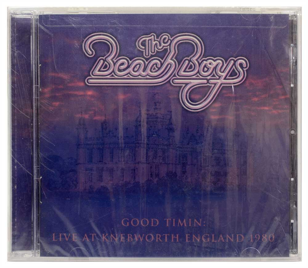CD The Beach Boys - Good Timin: Live At Knebworth England 1980 - Lacrado - Importado