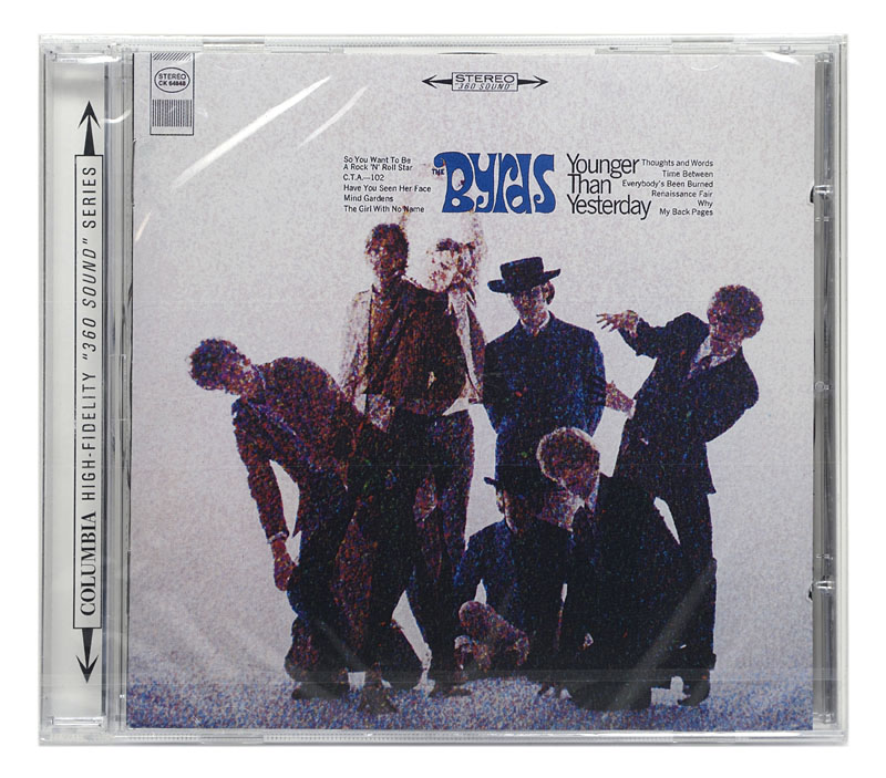 CD The Byrds - Younger Than Yesterday - Importado - Lacrado