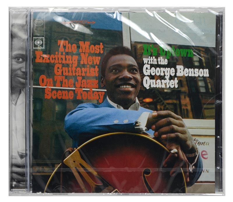 CD The George Benson Quartet - It's Uptown - Importado - Lacrado