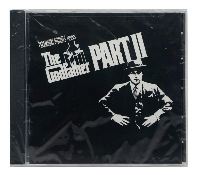 CD The Godfather Part II - Original Soundtrack - Importado - Lacrado