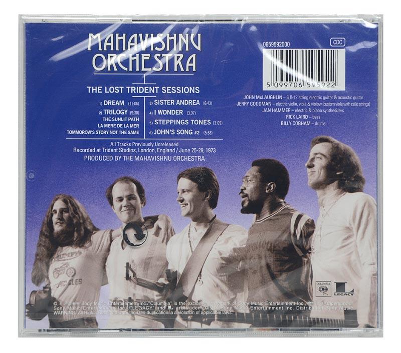 CD The Mahavishnu Orchestra - The Lost Trident Sessions - Importado - Lacrado