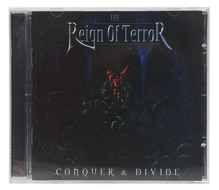 CD The Reign Of Terror - Conquer & Divide - Lacrado