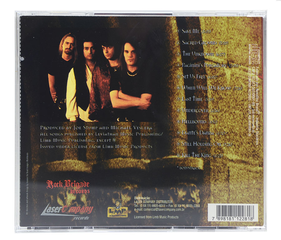 CD The Reign Of Terror - Sacred Ground - Lacrado