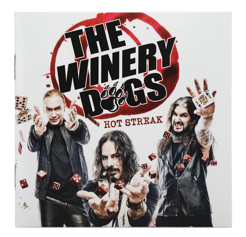 CD The Winery Dogs - Hot Streake - Lacrado