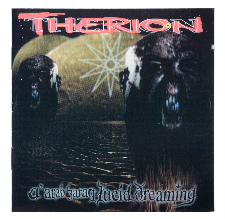 CD Therion - Atlantis Lucid Dreaming - Lacrado