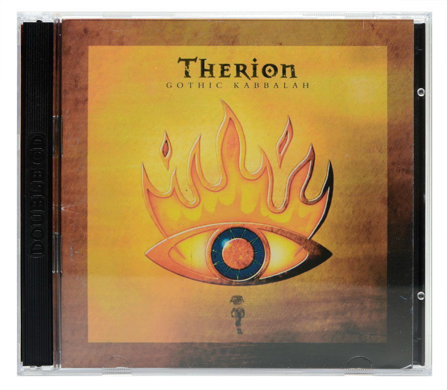 CD Therion - Gothic Kabbalah - Lacrado - CD Duplo