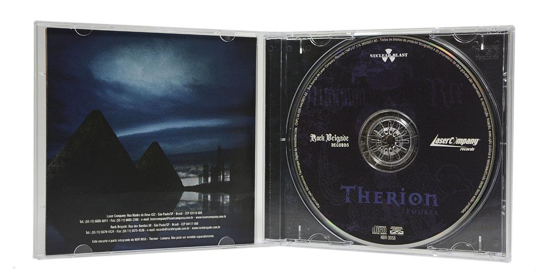 CD Therion - Lemuria - Lacrado