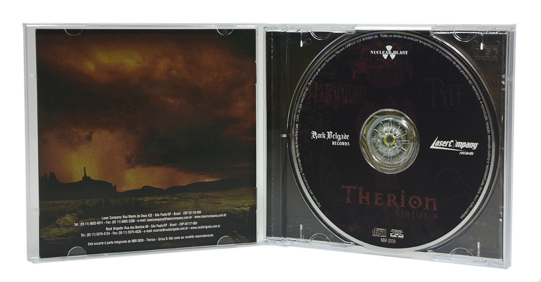 CD Therion - Sirius B - Lacrado