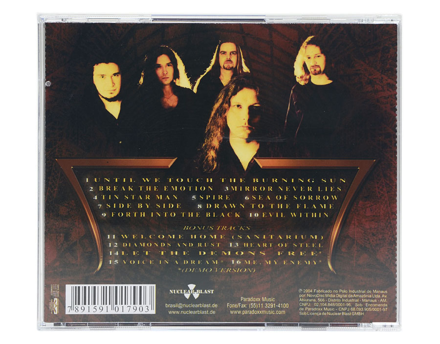CD Thunderstone - The Burning - Lacrado