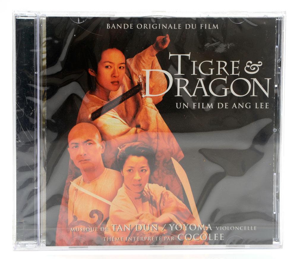 CD Tigre & Dragon - By Tan Dun Yoyo Ma - Importado - Lacrado