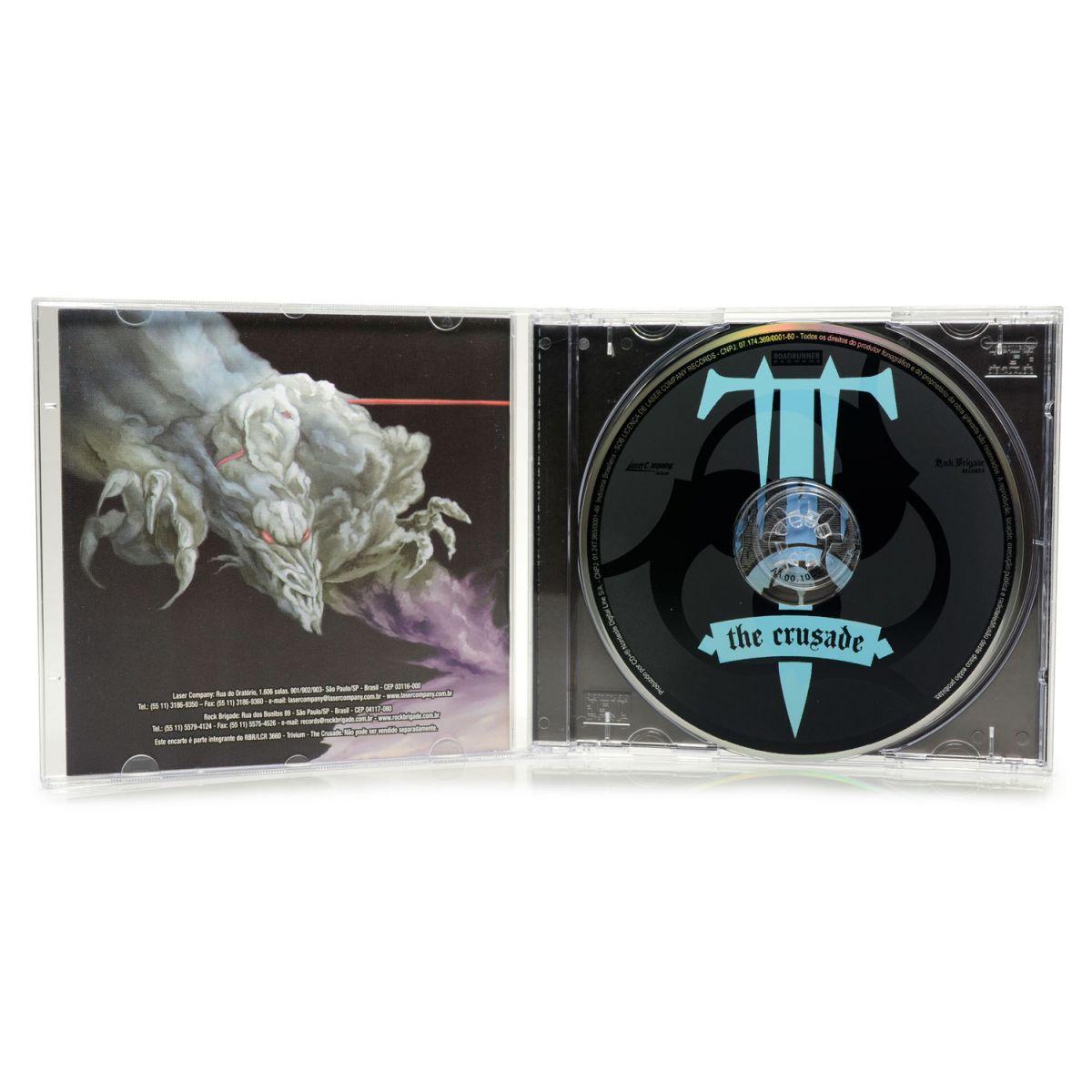 CD Trivium - The Crusade - Lacrado