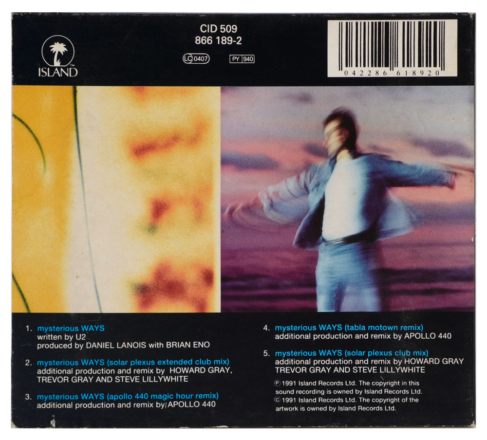CD U2 - Mysterious Ways - Importado - Digipack