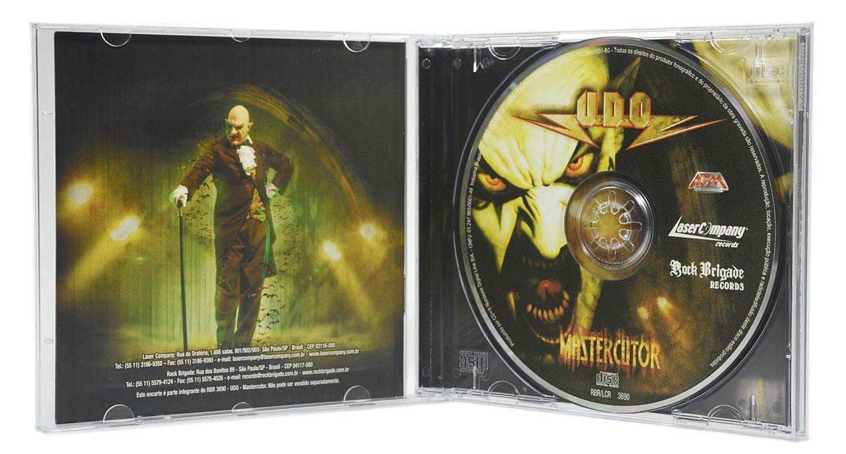 CD UDO - Mastercutor - Lacrado