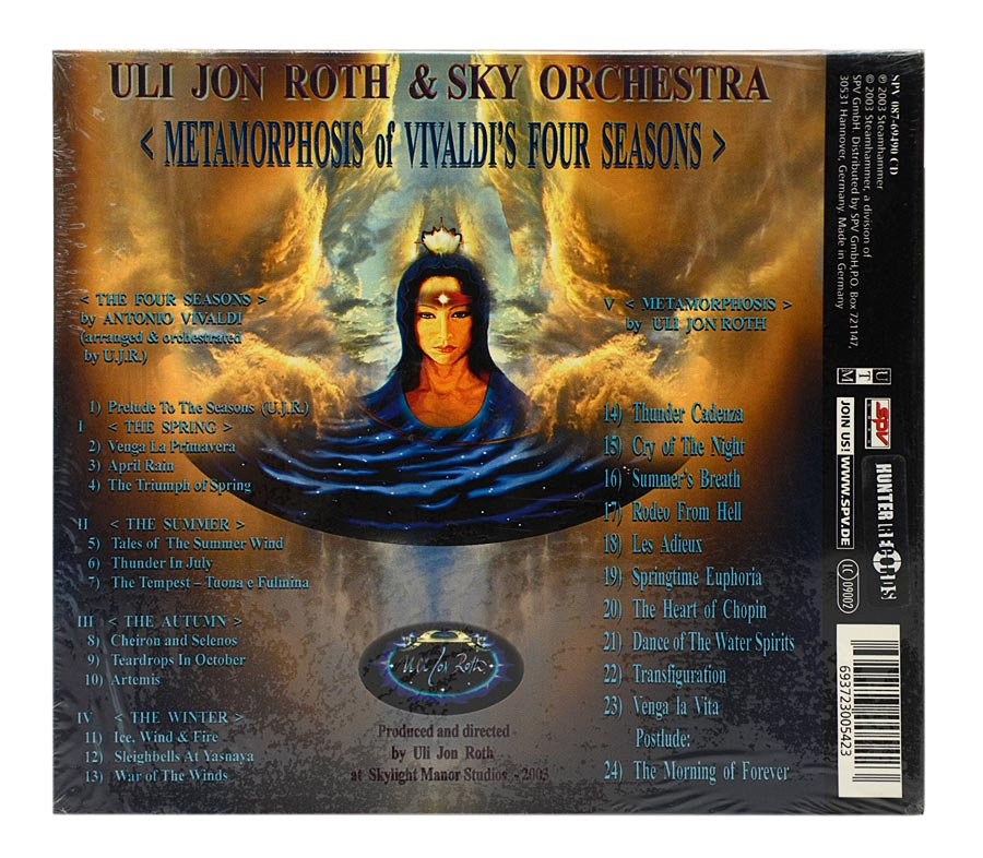 CD Uli Jon Roth - Metamorphosis - Digipack - Importado Alemanha - Lacrado