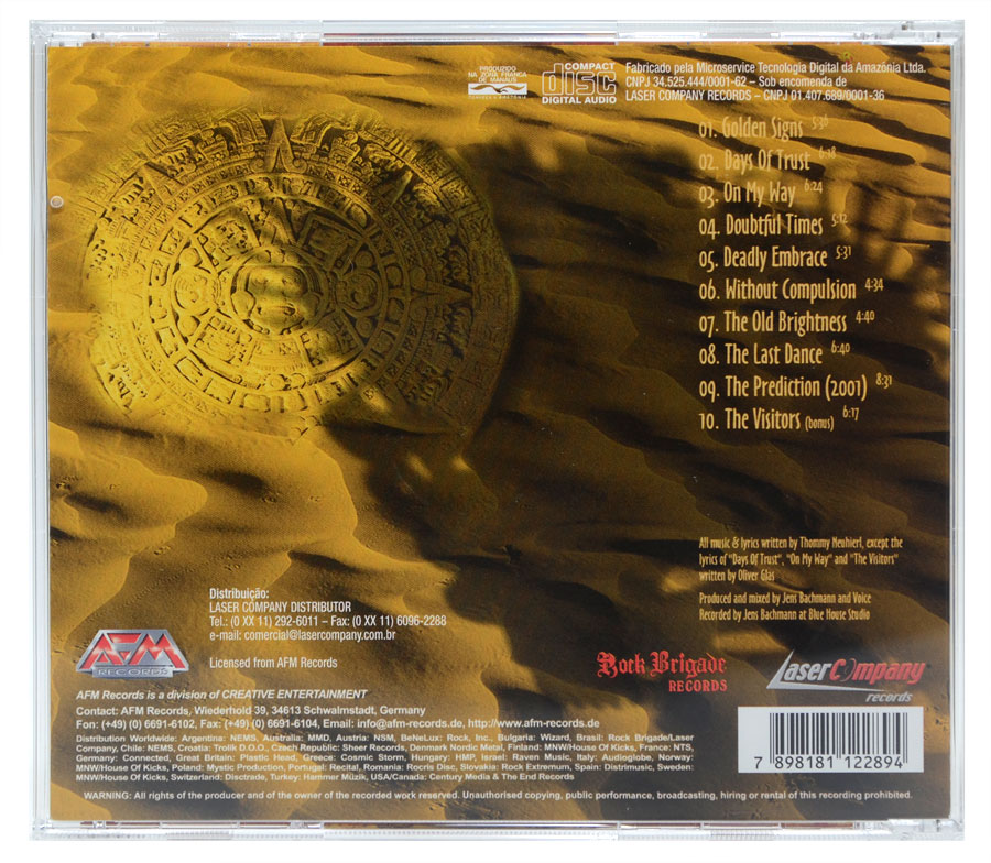 CD Voice - Golden Signs - Lacrado