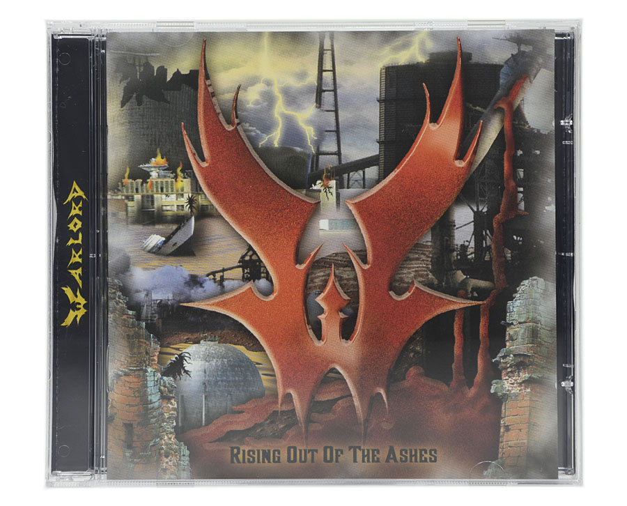 CD Warlord - Rising Out Of The Ashes - Lacrado