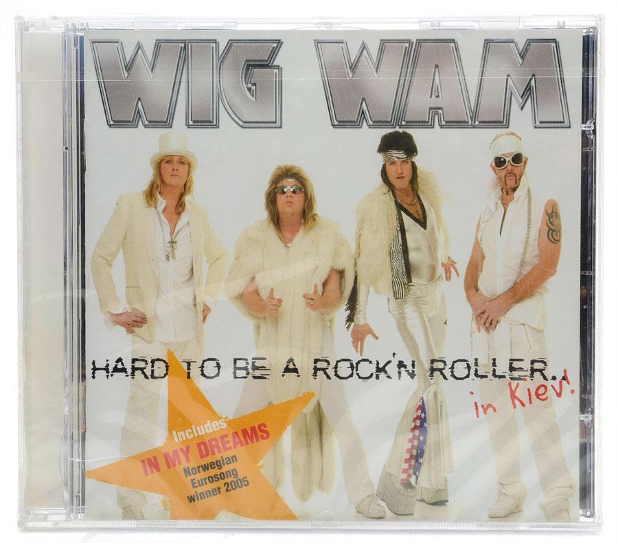 CD Wig Wam - Hard To Be A Rock'n Roller in Kiev - Importado - Lacrado