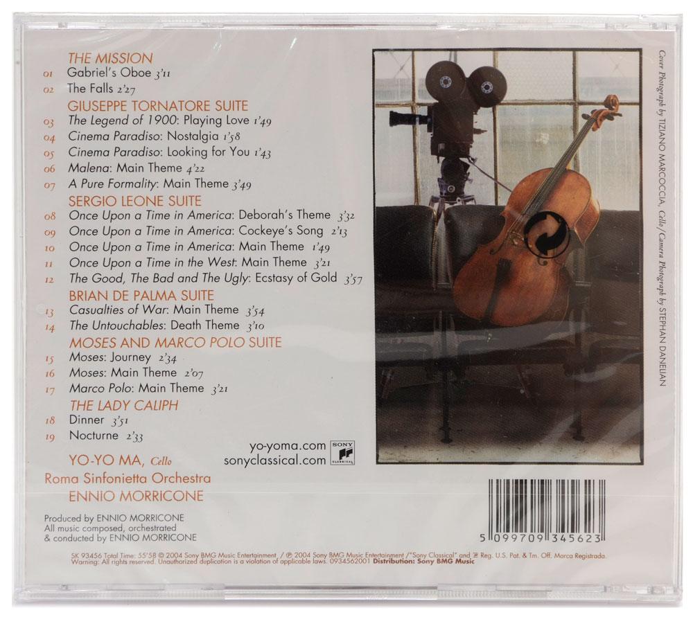 CD Yo-Yo MA Plays Ennio Morricone - Importado - Lacrado