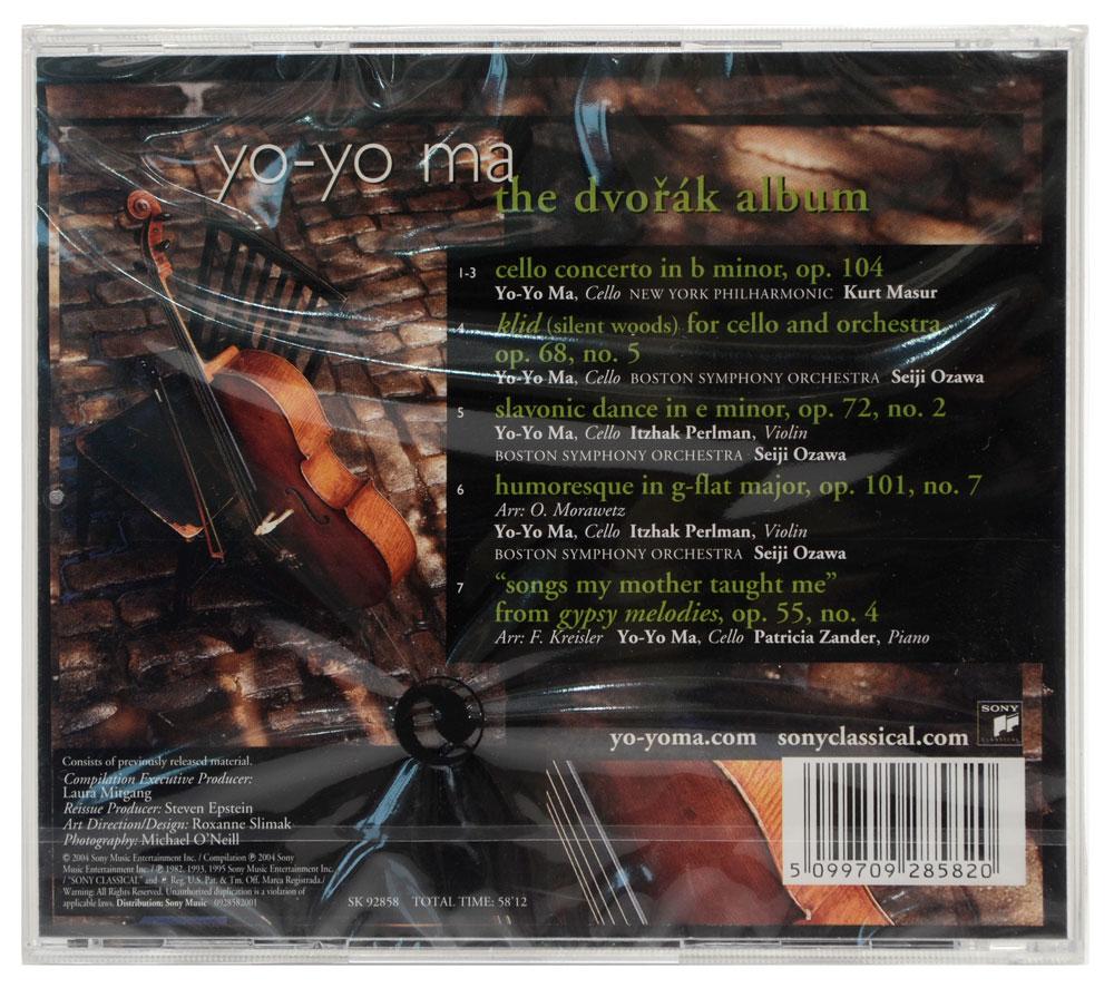 CD Yo-Yo Ma - The Dvorak Album - Importado - Lacrado
