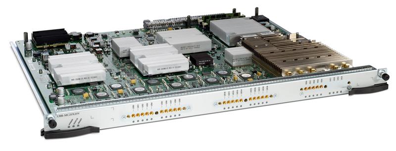 Cisco UBR-MC20X20V Processing Broadband Engine suporte total DOCSIS 3.0