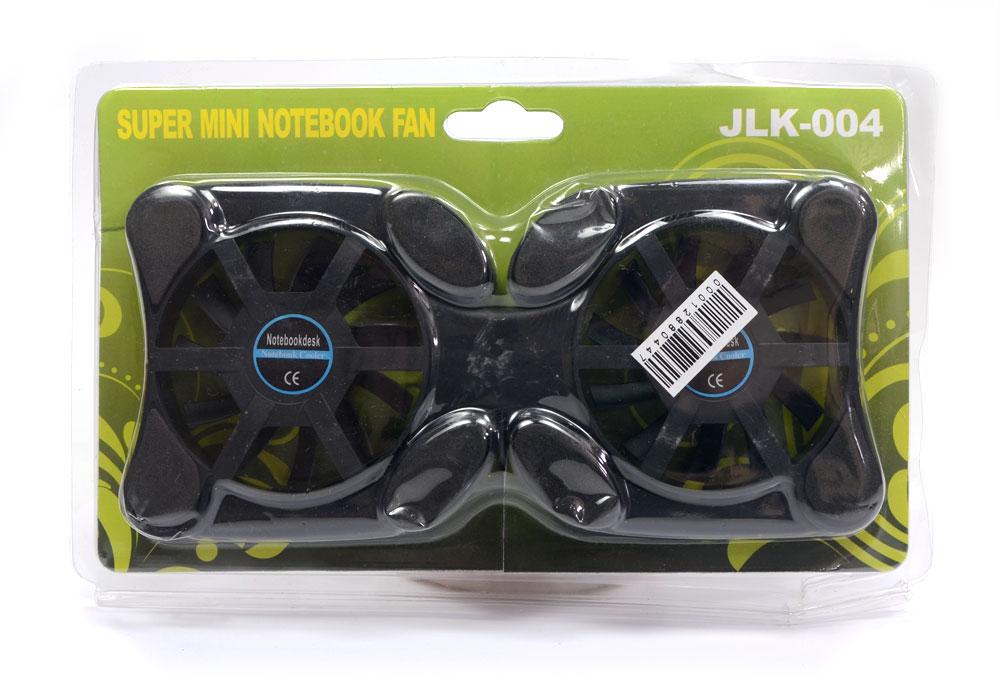 Cooler Duplo Portátil USB Notebook Universal JLK-004