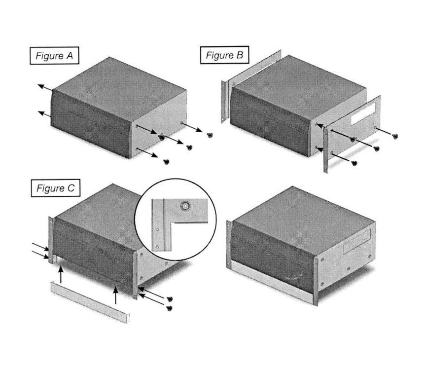 Denon RMR 3313 - Kit Denon de Montagem em Rack P/ AVR-X3100W AVR-X4100W AVR-X5200W AVR-2313CI