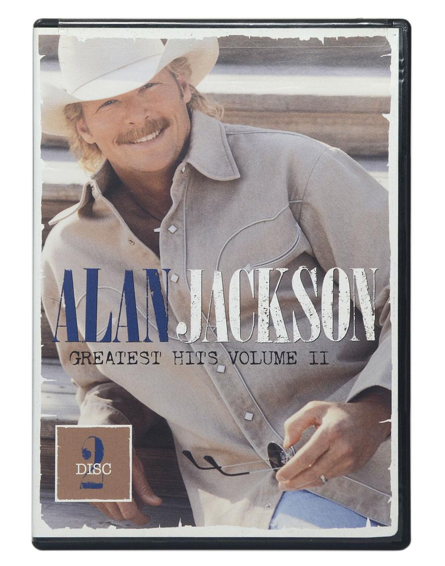 DVD Alan Jackson - Greatest Hits Volume II - Importado EUA - Lacrado