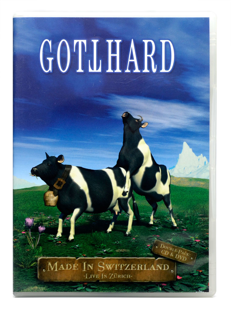 DVD + CD Gotthard - Made in Switzerland - Live in Zurich