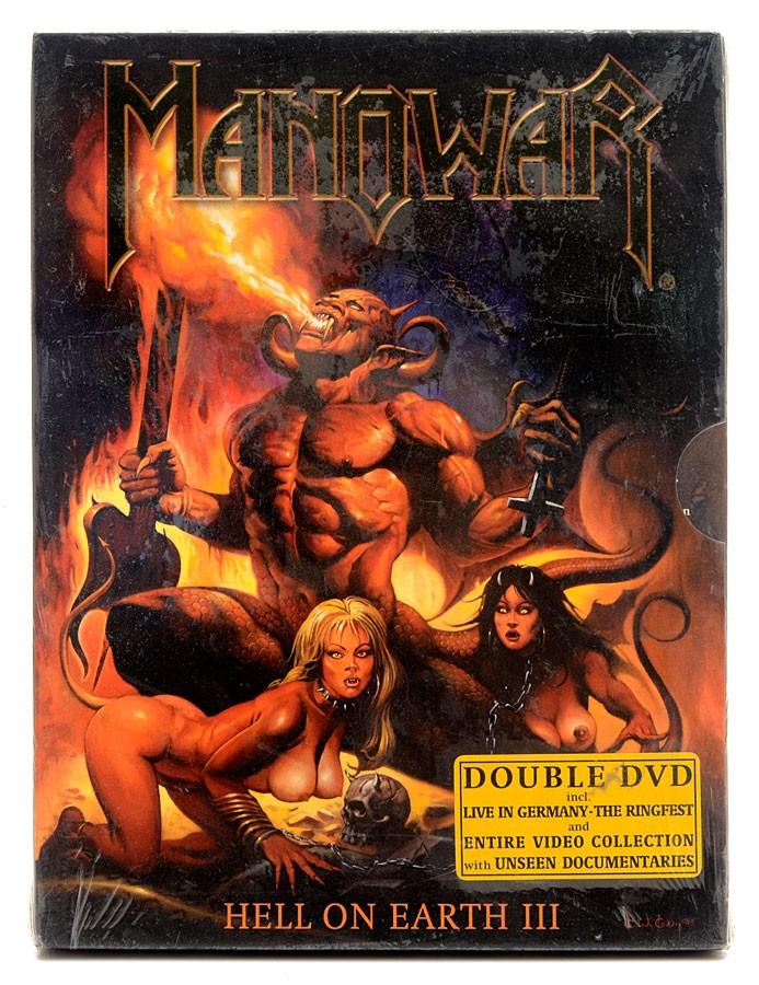 DVD Duplo Manowar - Hell On Earth III - Importado - Lacrado
