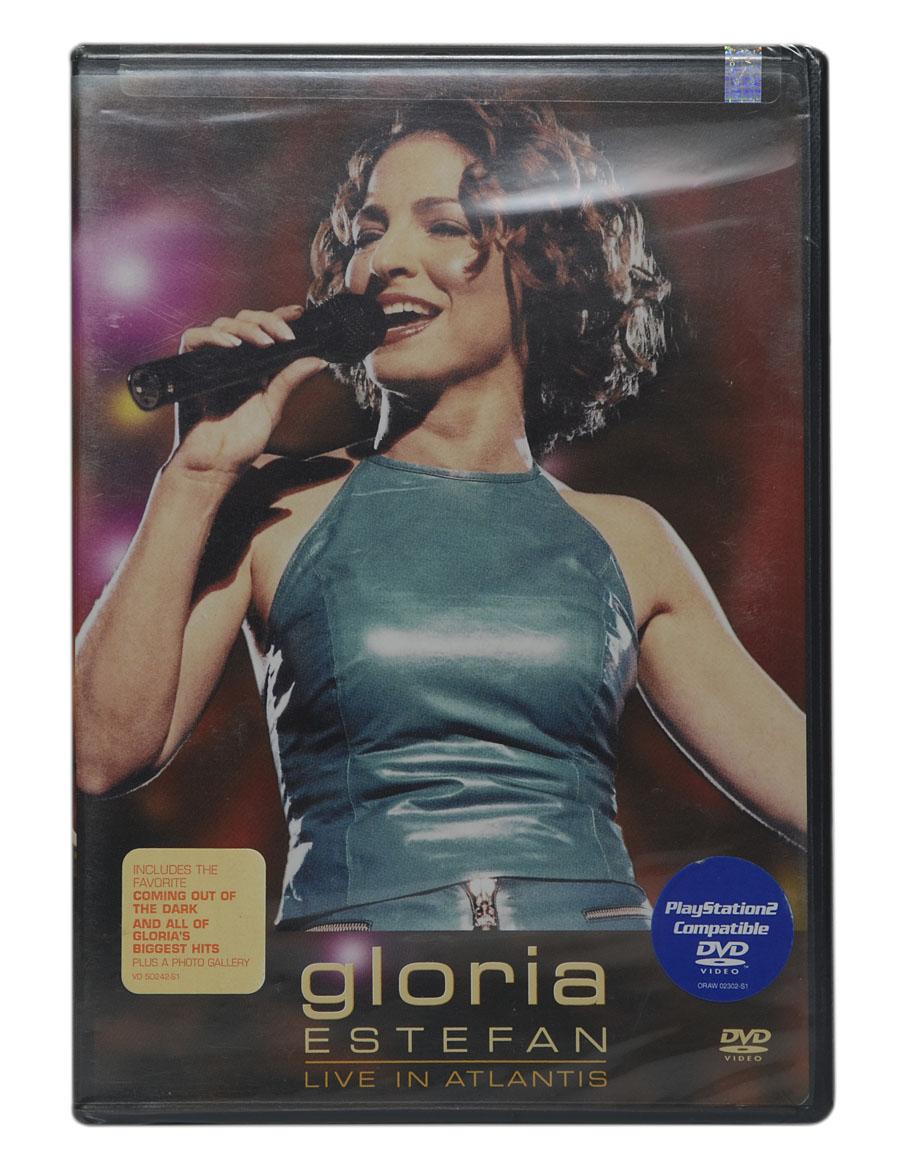 DVD Gloria Estefan - Live In Atlantis - Importado - Lacrado