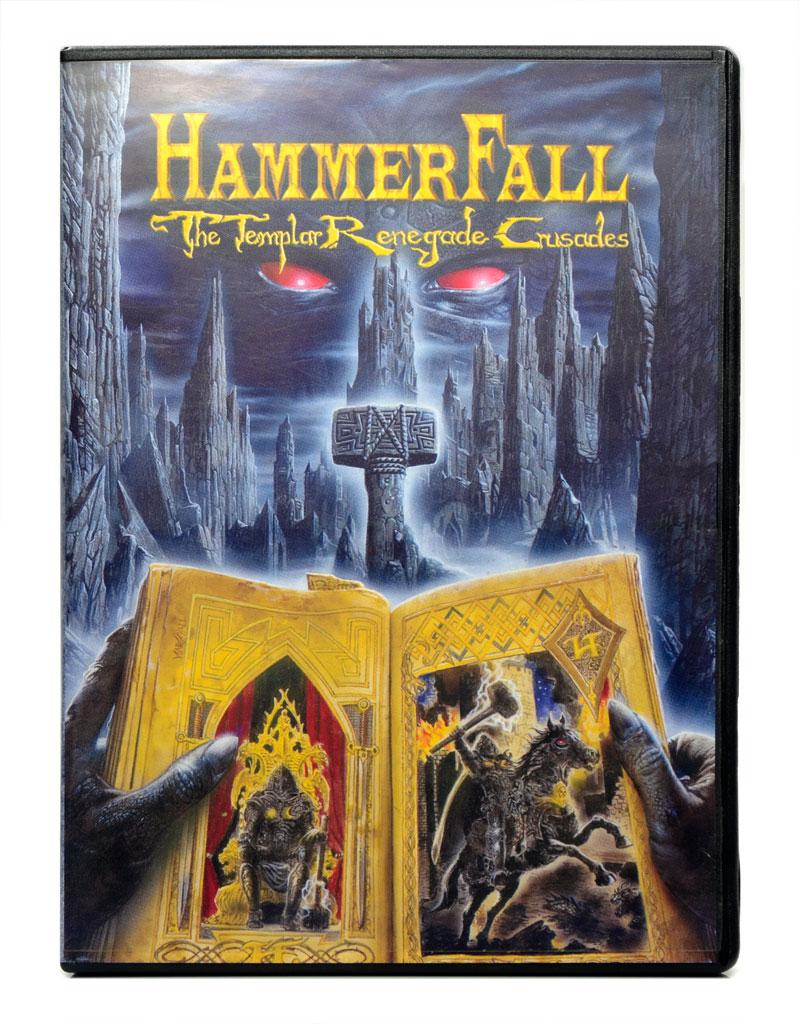 DVD HammerFall - The Templar Renegade Crusades - Lacrado