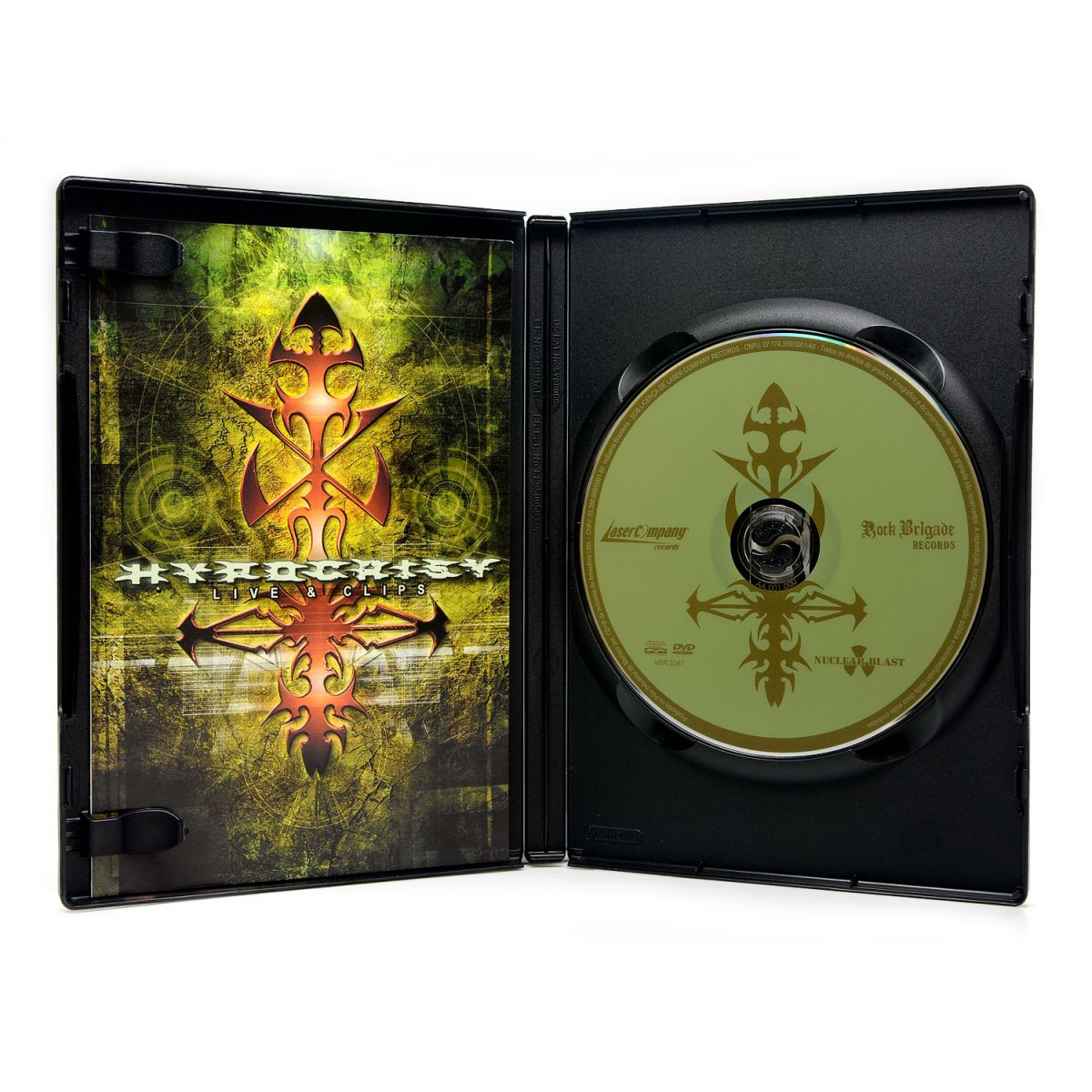 DVD Hypocrisy - Live & Clips - Lacrado