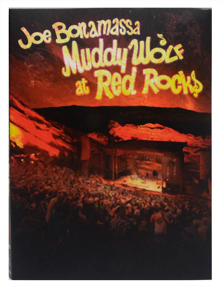 DVD Joe Bonamassa - Muddy Wolf at Red Rocks - Duplo / Digipack - Lacrado