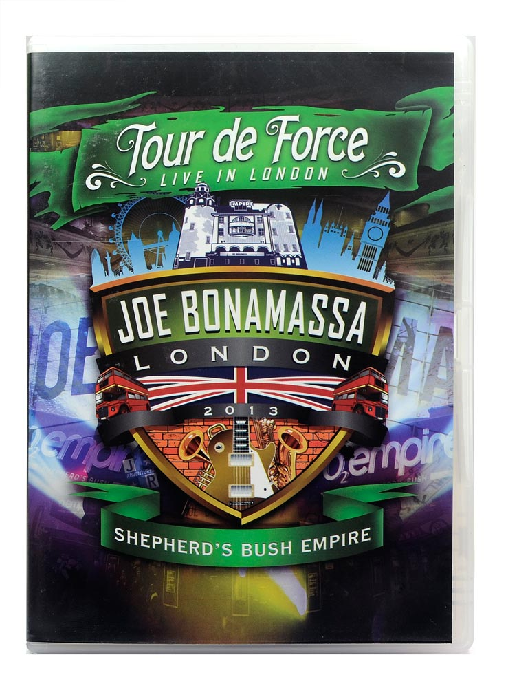 DVD Joe Bonamassa - Tour de Force Live in London 2013 - Shepherds Bush Empire - Duplo - Lacrado