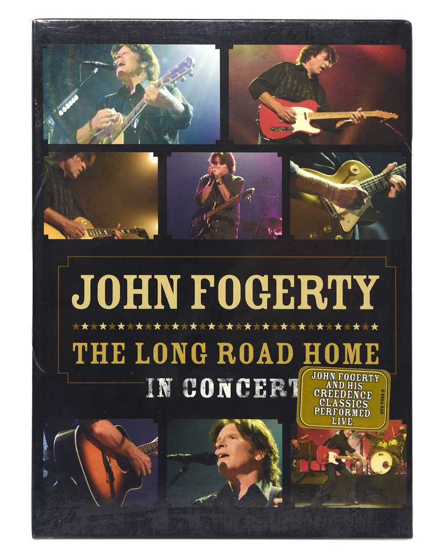DVD John Fogerty - The Long Road Home In Concert (Importado - EUA) - Lacrado