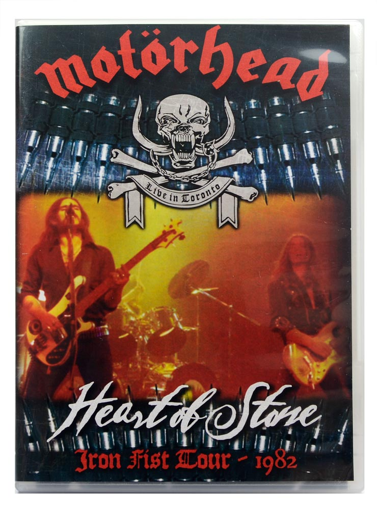 DVD Motorhead - Heart of Stone - Iron Fist Tour 1982 - Lacrado