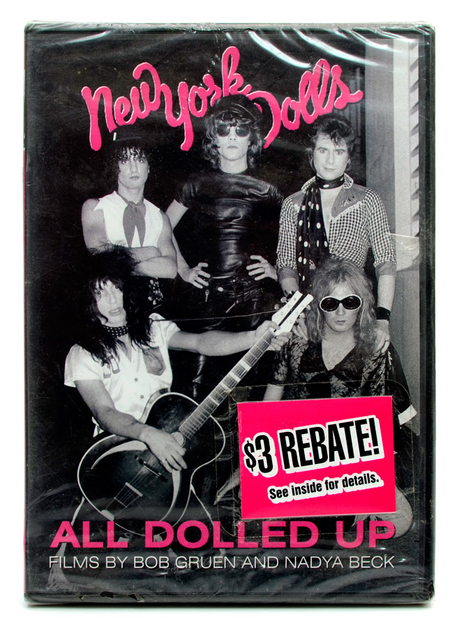 DVD New York Dolls - All Dolled Up By Bob Gruen - Lacrado - Importado