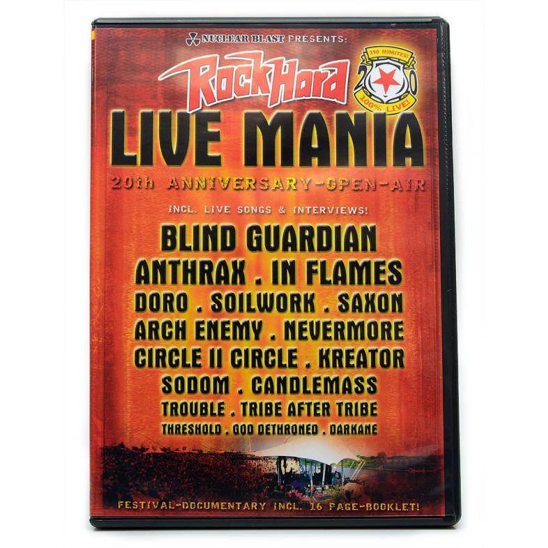 DVD Rock Hard Live Mania - Kreator Doro In Flames